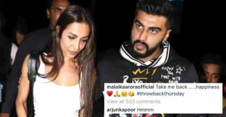 Arjun Kapoor's Dil Is Going 'Hmmm… On Seeing Ladylove Malaika Arora's Picture