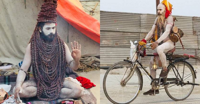 Kumbh Mela: Tweeps are going crazy with the colorful styles of the Sadhus and Nagas