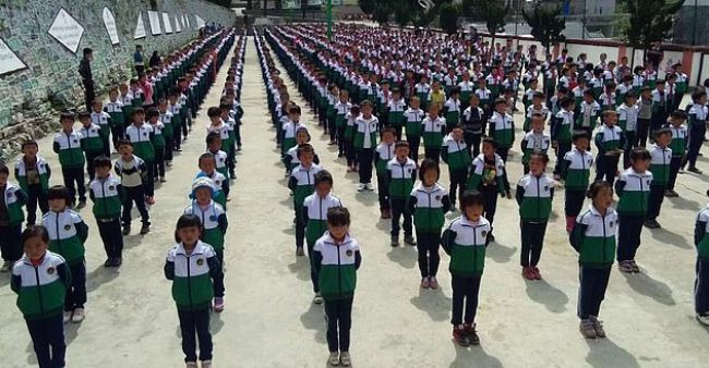 Chinese schools use AI-controlled uniforms which are equipped with tracking chips