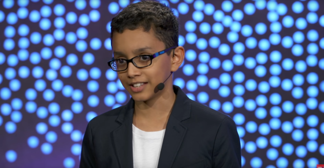 12-YO Hazziq Kazi Invented a Ship To Remove Plastic From the Ocean and Save Marine Life