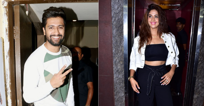 Rumored Couple Vicky Kaushal And Harleen Sethi Looked Beautiful Together At Uri's Screening
