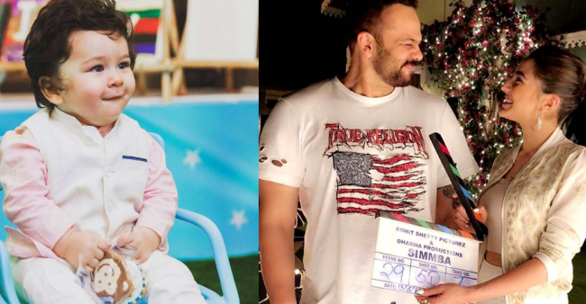 Rohit Shetty Reveals Why He Wanted Taimur To Promote Sister Sara's Film Simmba