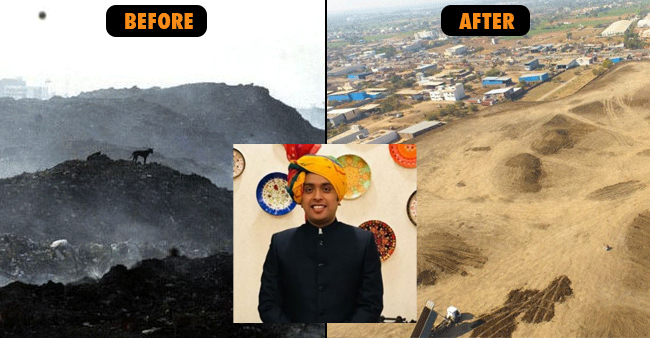 Indore's IAS, Asheesh Singh Cleans 13 Tonnes Of Garbage Turning The Land Into Forest Now