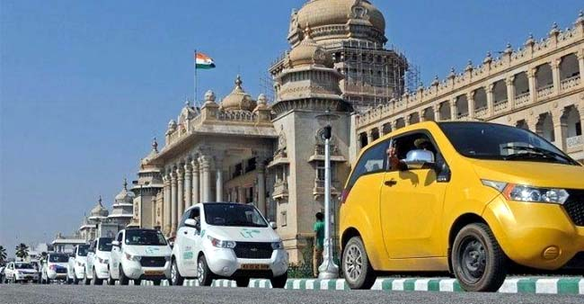 First Electric Taxi Service Set Up In Delhi-NCR With Blu-Smart Initiative