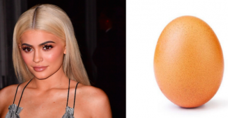 The most liked image on Instagram is of Egg, leaving TV star Kylie Jenner behind on the list