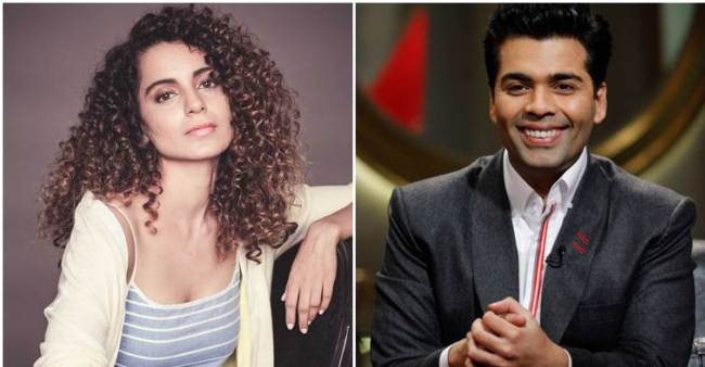 Karan Johar Doesn't Mind Working With Kangana, Would Gladly Cast Her In His Films If Required