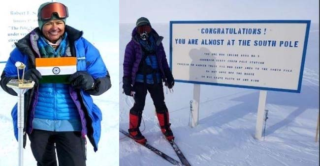Aparna Kumar Is The First Woman To Reach the South Pole Expedition