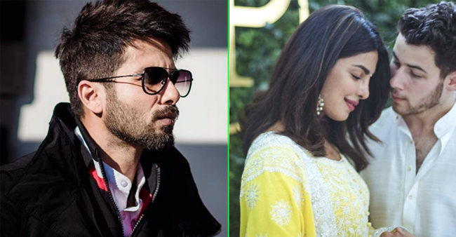 Shahid Kapoor's advice to Priyanka's husband Nick Jonas was something really surprising