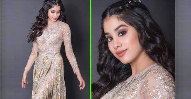 Janhvi Kapoor Looks Flawless in a Sheer dress, Curly Hairs And Smokey Eyes; Take A Look