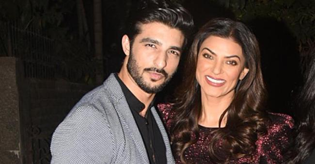 Sushmita And Rohman Can't Get Their Eyes Off Each Other At S.S Rajamouli's Son's Wedding