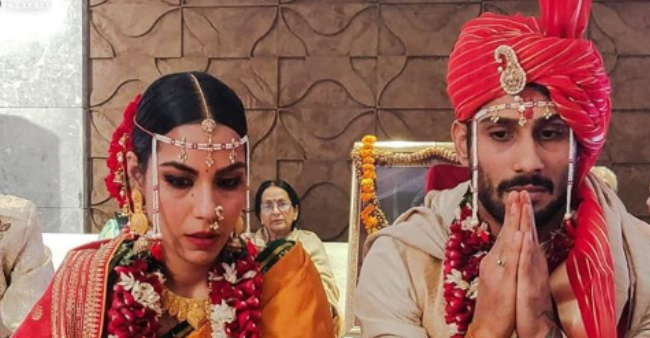 Prateik Babbar Ties The Knot With Fiance Sanya Sagar, First Pictures Out