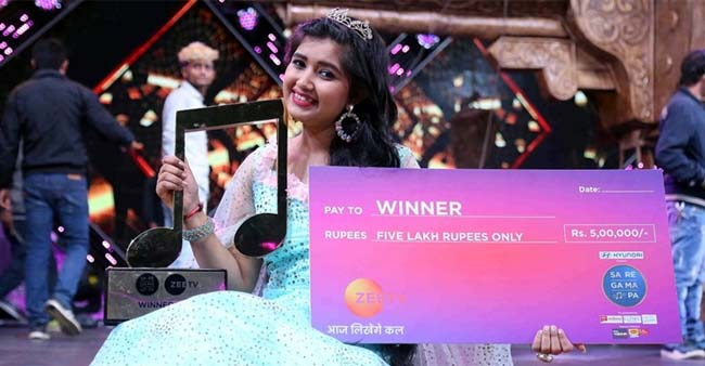 5 Years back Ishita Couldn't even Make in top 12, Is the New Winner of Sa Re Ga Ma Pa