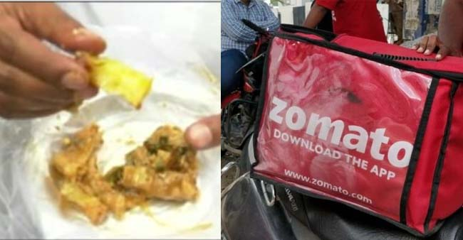 Zomato suspended Restaurant for adding Plastic in Paneer Dish