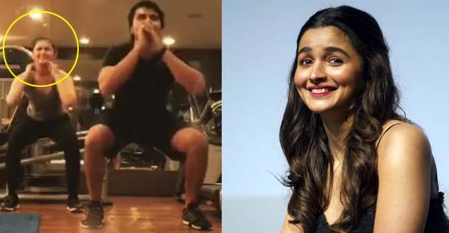 All You Need Is Alia Bhatt's Latest Gym Video Doing Air Squats For Your Monday Motivation