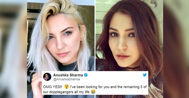 Anushka Sharma Reacts on her Uncanny resemblance to the American Singer, Julia Michaels, And it's priceless