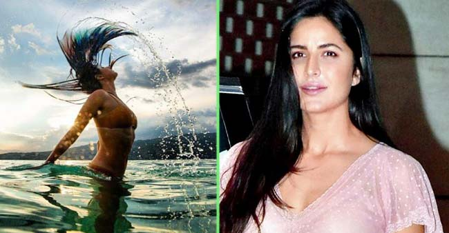Katrina Kaif stuns in her new photo, Dramatically flips her hair in the water; See PICS