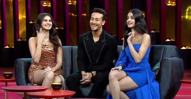 KWK 6: Tiger Shroff Revealed That He Finds Ananya Panday and Tara Sutaria Fake With Each Other