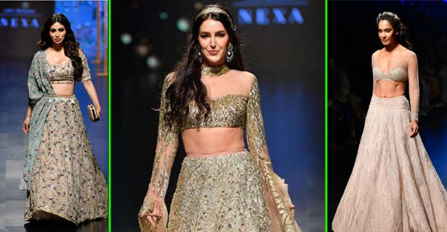 On this wedding season, you can not miss Lakme Fashion Week Summer Collection