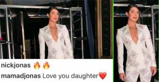 PeeCee got a gracious comment from Mama Jonas on her latest pics at Instagram