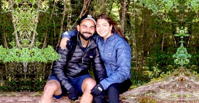 Anushka Sharma and Virat Kohli are counting time with beautiful moments, went for trekking in New Zealand