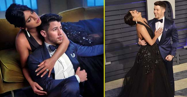 Fans are going Crazy over Priyanka Chopra's latest pictures with Nick Jonas at the 2019 Oscars after-party