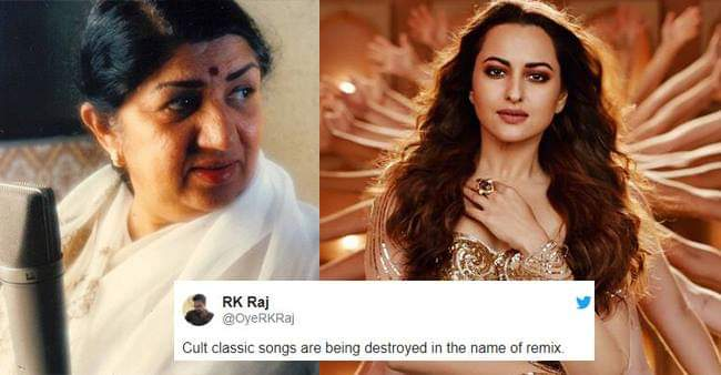 Twitteratis are not pleased with Sonakshi Sinha's Mungda Remix, Lata Mangeshkar Criticises Rip-Off Songs