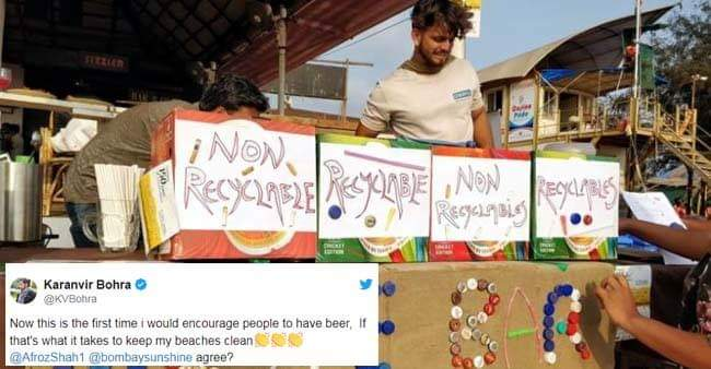 A Bar in Goa is Offering Free Beer in Exchange for Waste Collected From the beach