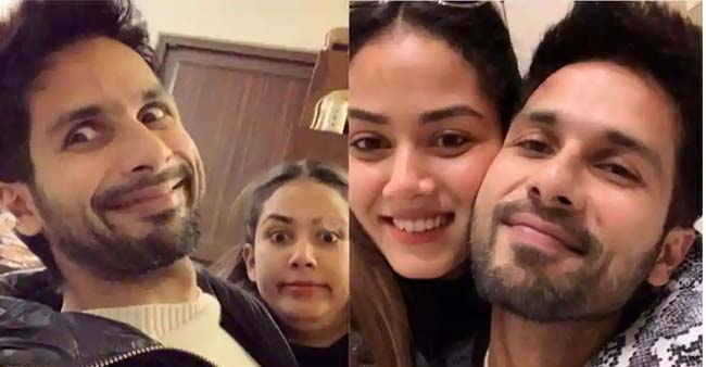 Shahid Kapoor Celebrated 38th Birthday, With Wife Mira Rajput; Couple Treat Fans With Cute Goofy Photos