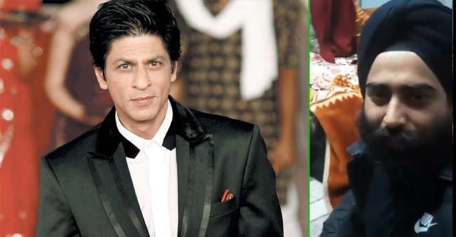 Shah Rukh Khan acknowledges a fan's efforts and responded to the touching video shared by his fan
