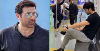 Actor Sunny Deol's son Karan Deol Spotted in Mumbai Metro, Video is Going Viral