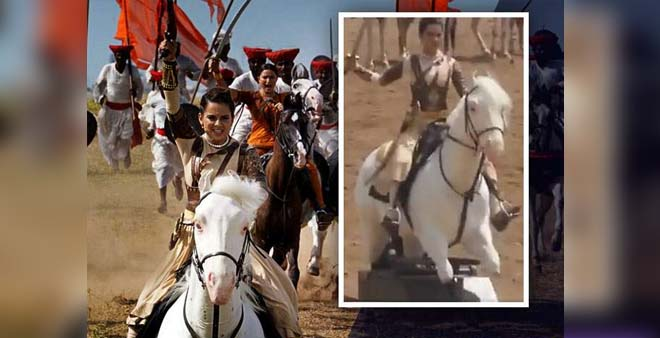 Anupam Kher Defends Kangana Ranaut Against A Troller, For Her leaked Scene From Manikarnika
