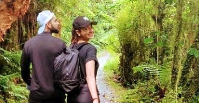 Anushka Sharma and Virat Kohli are back from their leisure vacation, See PICS