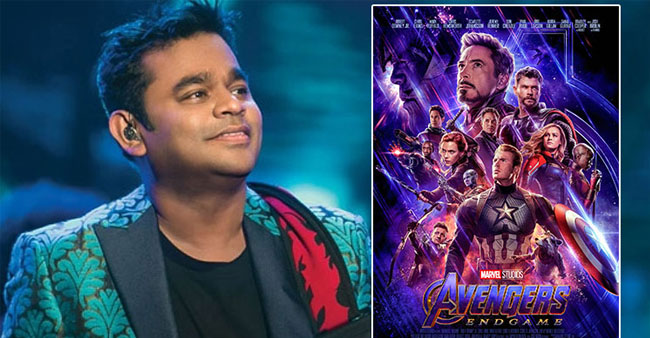 AR Rahman is all set to compose a song for Marvel's  Avengers: Endgame