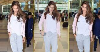 Disha Patani goes for Make-up free look and totally rocked it.