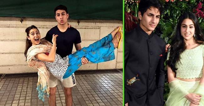 Sara Ali Khan breaks Instagram with A Goofy Birthday Post for the Best Brother In the World, Ibrahim Ali Khan