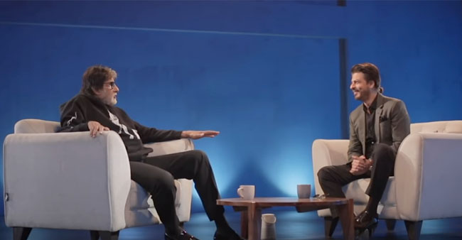 Badla Unplugged Epi 1: Check How Actor Amitabh Bachchan Takes Badla From Producer Shahrukh Khan