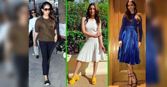 From Deepika Padukone to Mira Rajput THESE B-Town Divas Have stunned us with their Flawless Celebrity Footwear