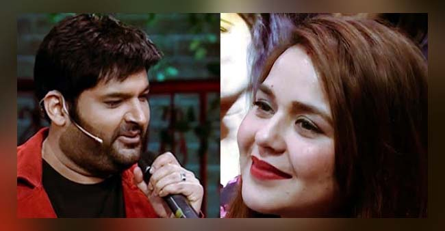 Kapil Sharma Sings A Romantic Song For His Wife Ginni Chatrath; Makes Her Blush