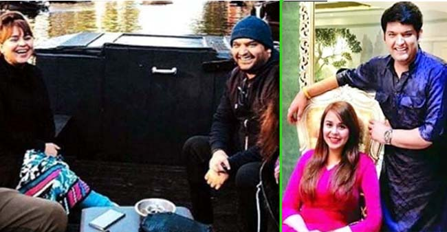 Kapil Sharma and wifey Ginni Chatarth are seen enjoying a boat ride in Amsterdam; See PIC