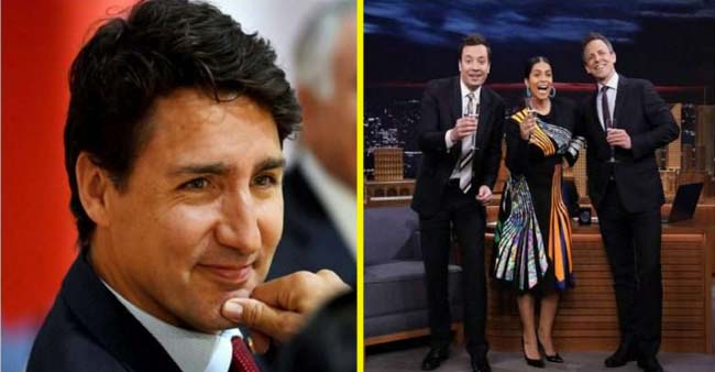 Canadian PM Justin Trudeau and Singer Nick Jonas congratulated Lilly Singh on Bagging Late Night Talk Show