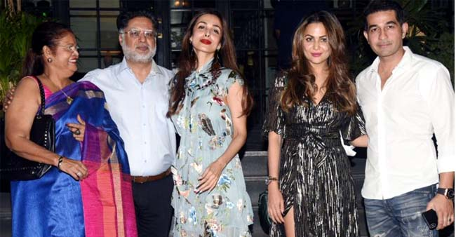 Bollywood-Sisters, Malaika Arora and Amrita Arora United Together to Host A Family Dinner on Mother's Birthday