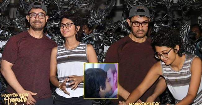 Aamir Khan Shares an Adorable Video of a Kid Kissing His Poster and it is too cute