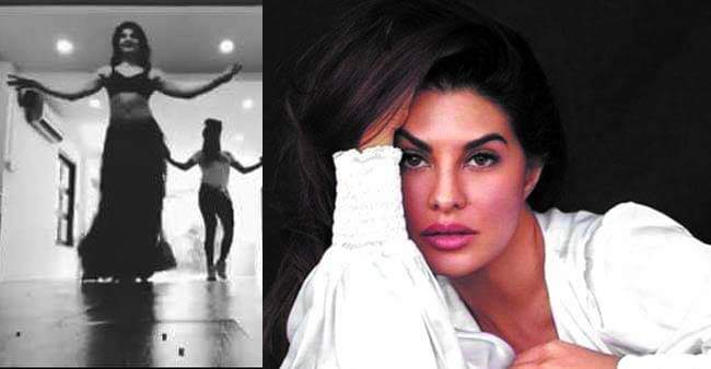 Jacqueline Alluring Belly Dance While Rehearsing For Dabangg Reloaded Tour; Watch VIDEO