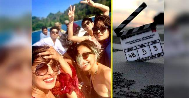 The Sky Is Pink Helmed By Shonali Bose Featuring Priyanka Chopra and Farhan Akhtar, Wraps the shoot