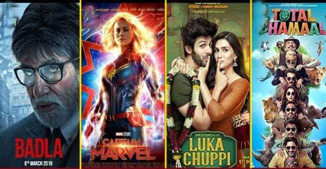 Badla, Luka Chuppi, Captain Marvel And Total Dhamaal Keeps A Steady Pace Intact At Box Office Collection