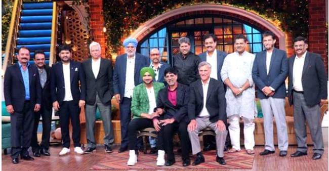 Prior to World Cup 2019, TKSS Hosted the 1983 World Cup winning Cricket team and Tweeps admires it by their Heart