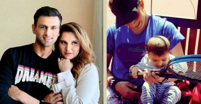 Sania Mirza Shares an Adorable Pictures As Racket Fascinates Her son Izhaan