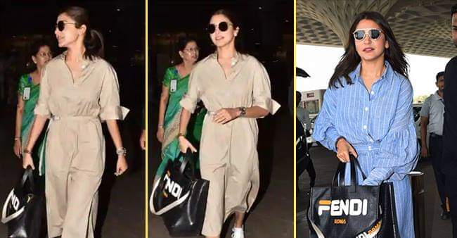 Here's the cost of Anushka Sharma's Fendi Tote Bag, The Amount Will Blow your Mind