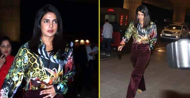 Priyanka Chopra Jonas Picks Multi-Colored Outfit For Her Latest Airport Look