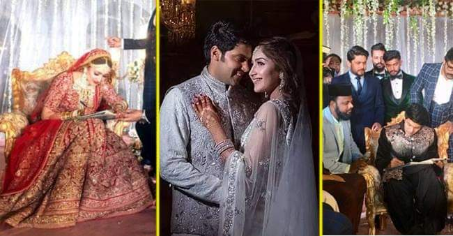 Celebrity Couple Arya and Sayyeshaa Got Married In Hyderabad As Per Islamic Rituals; See PICS